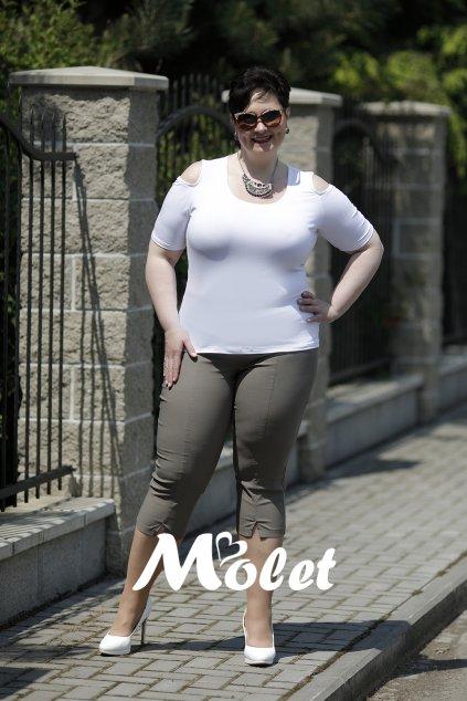 Olga tříčtvrteční kalhoty khaki