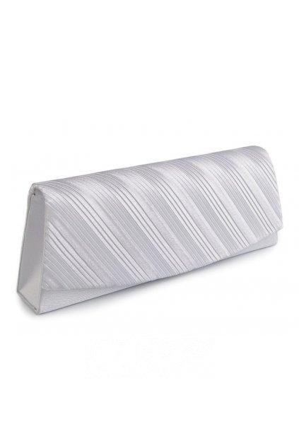 Psaníčko kabelka stříbrná