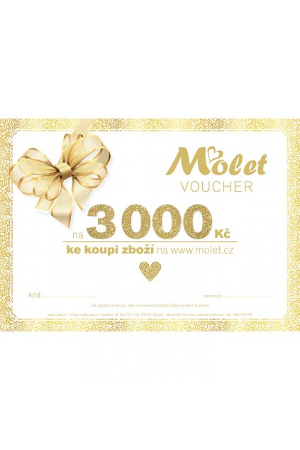 Voucher MOLET 3000