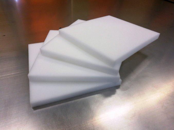 Molitanové podložky 22x19x1,5 cm  odběr po 1000ks