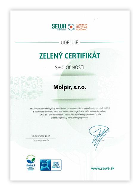Zelený-certifikat-Molpir