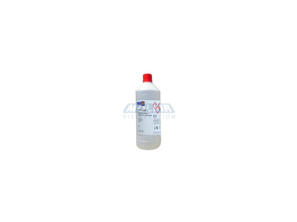 DD MOL 202 Dezinfekčný roztok na báze alkoholu 1 l