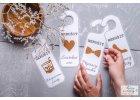 Svatební visačky na dveře