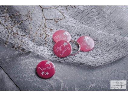 18 placky na rozlučku tým nevěsty nevěsta (1)