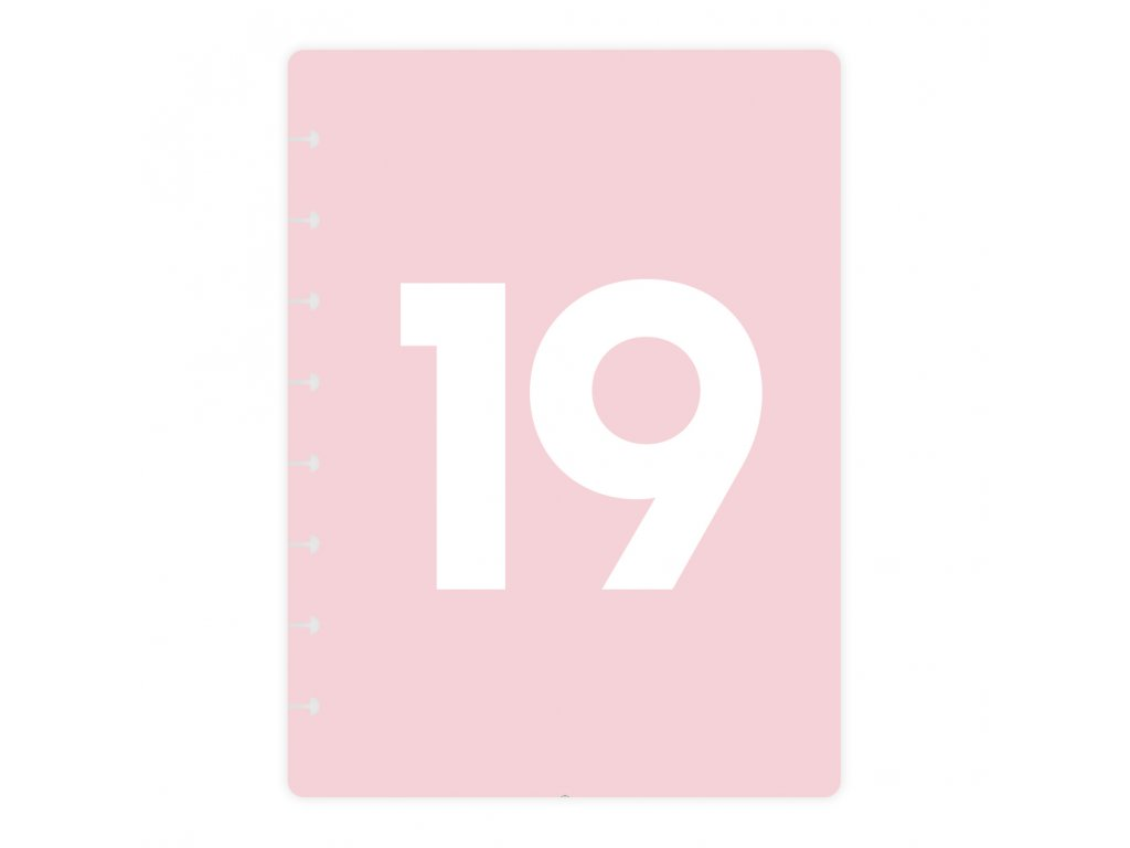 Desky Kalendarium 19 Kalendarium19pudr bezkoleček Front