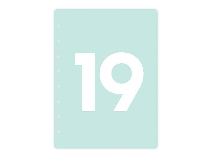 Desky Kalendarium 19 Kalendarium19mint bezkoleček Front