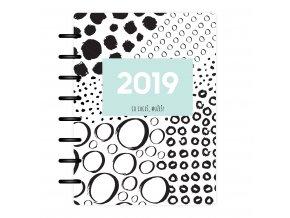 Desky Kalendarium 19 Kolečka Front