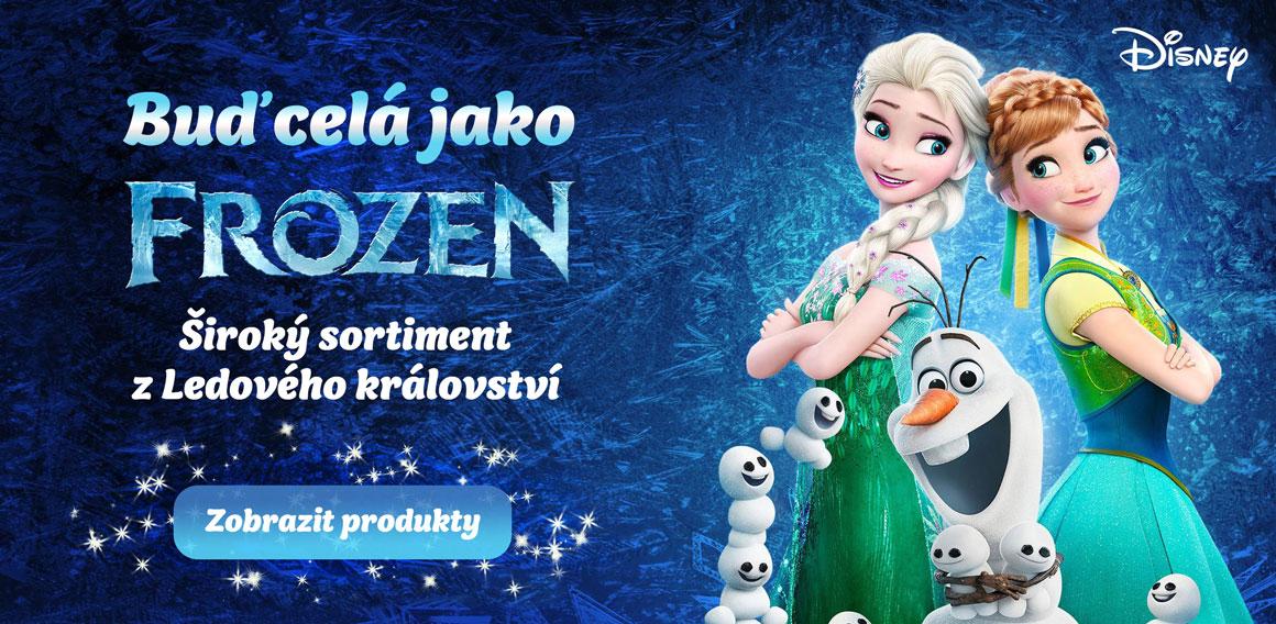 Buď celá jako Frozen - Široký sortiment z Ledového království