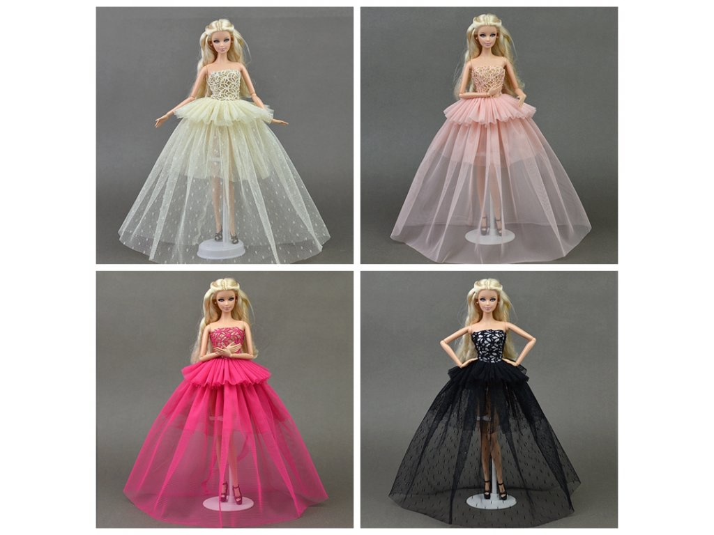 43dc647e28e4 Doll Clothes For Barbie Princess Wedding Dress Noble Party Gown For Barbie  Doll Fashion Design Outfit