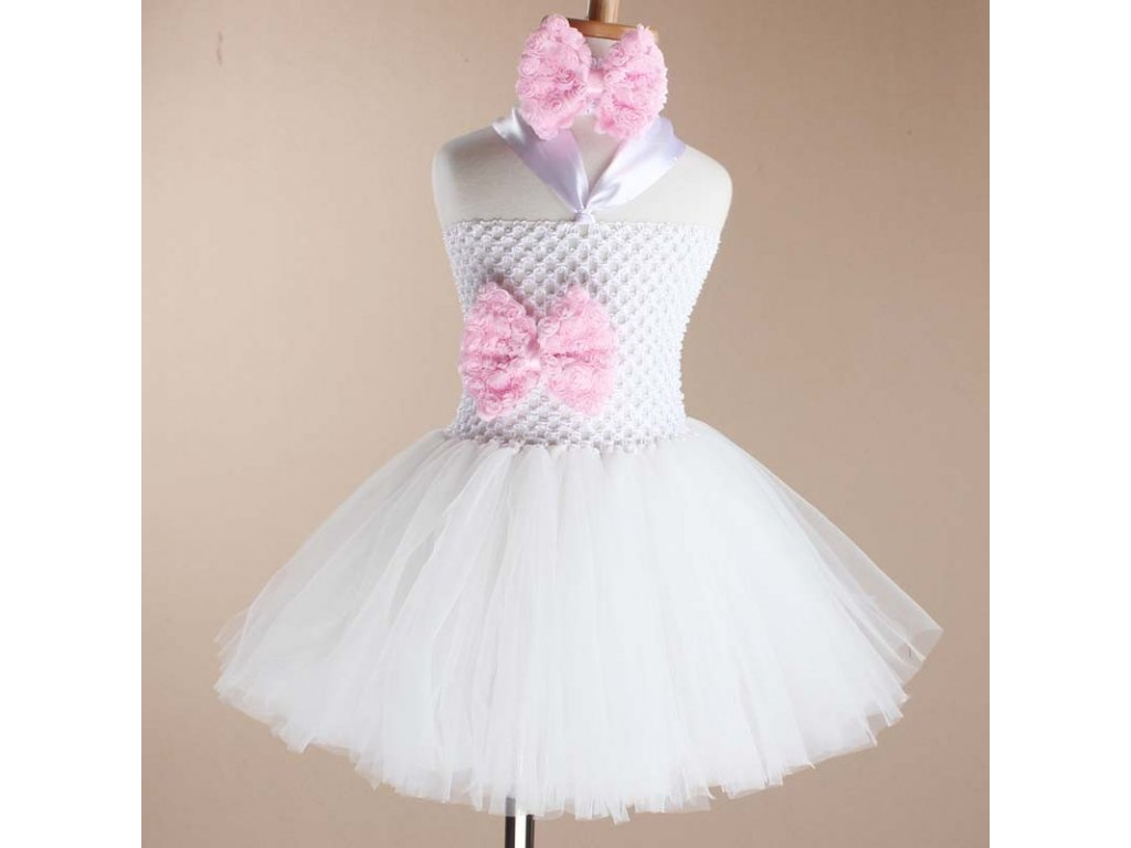 f0de344fa00a Dvouvrstvé šaty s tutu sukní a čelenkou - Mom   Kids