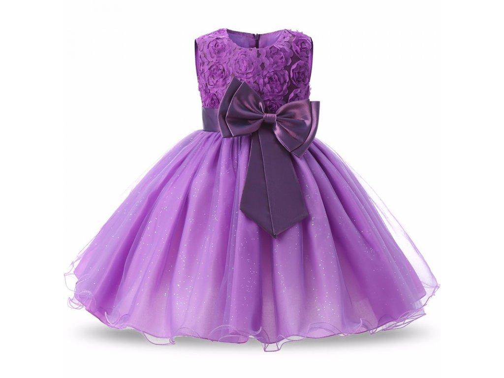 2c283850224 Tylové šaty s mašlí - Mom   Kids