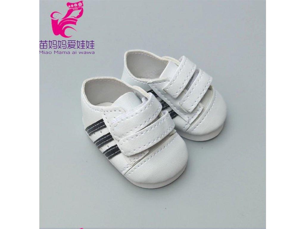 331b74dcd9 Tenisky na suchý zip pro American girl a Baby Born 43-45 cm - Mom   Kids