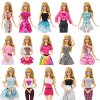 Party oblečení pro Barbie