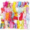 10 Pcs Mix Sorts Beautiful Handmade Party Dress Fashion Clothes Best Gift Kids Toys for Barbie 1