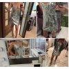 Třpytivé mini šaty s výstřihem