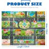 39Pcs City Map Car Toys Model Crawling Mat Game Pad for Children Interactive Play House Toys 3