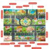 39Pcs City Map Car Toys Model Crawling Mat Game Pad for Children Interactive Play House Toys 4
