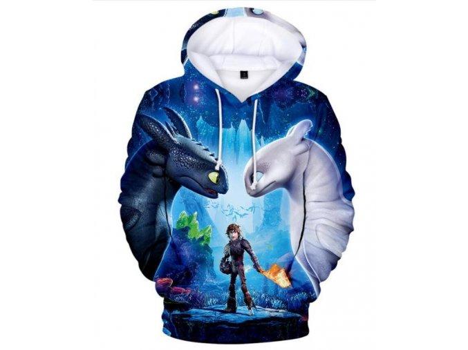 2019 New Hot kids 3D Print Hoodies Sweatshirt childen How To Train Your Dragon 3T Shirt 1