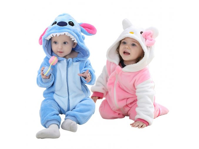 Baby Girls rompers new born baby Clothes Hooded Boys Kids jumpsuit Brand Long Sleeve Soft Flannel 1