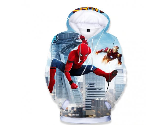Mikina 3D potisk Spiderman