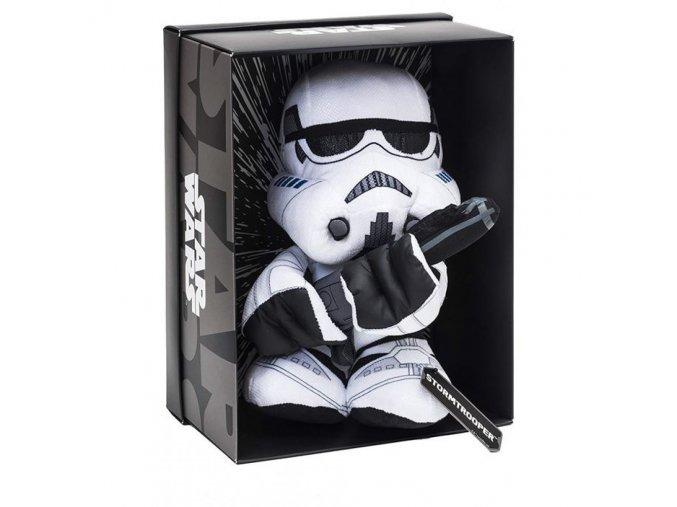 Disney Star Wars plyšový Stormtrooper v dárkovém boxu, 25 cm