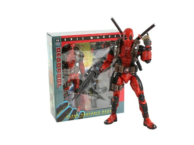Figurka legendární Deadpool