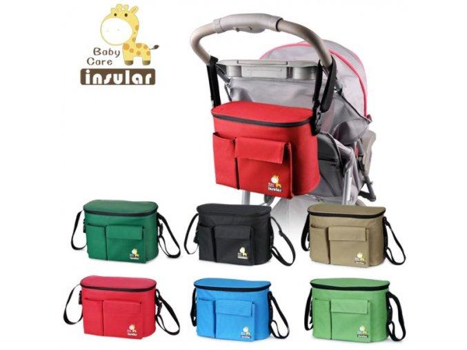Termoizolační taška na kočárek