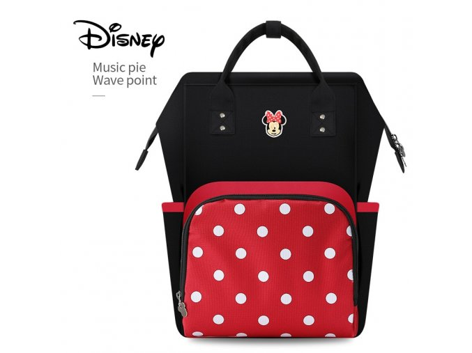 Disney Large Capacity USB Waterproof Diaper Bags Oxford Cloth Insulation Bags Bottle Feeding Storage Bag Mummy 24 NO USB