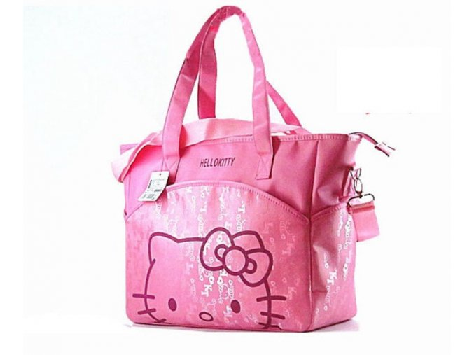 31 37 14 cm Canvas Baby Diaper Bag For Mom Mummy Mother Hello Kitty Maternity Nappy 43