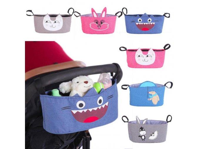 Baby Stroller Diaper bag Nappy bag carriage hanging basket storage organizer bolsa maternidade para bebe Stroller 48