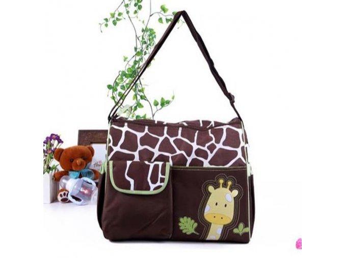 Baby Diaper Maternity for Mom Nappy Bag Mother Changing Mummy brand Designer stuff multifunctional nursing Bag green giraff
