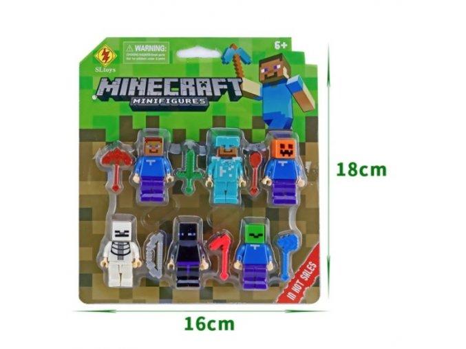 Figurky Minecraft 6 ks