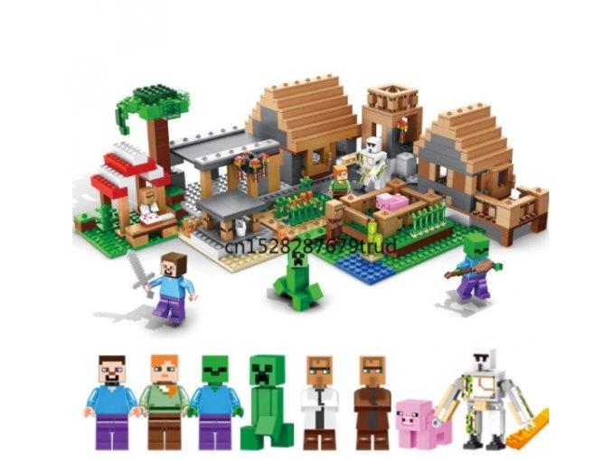 Minecraft stavebnice Vesnice duchů