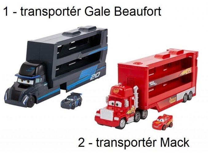 Mattel Disney Cars mini Transportér
