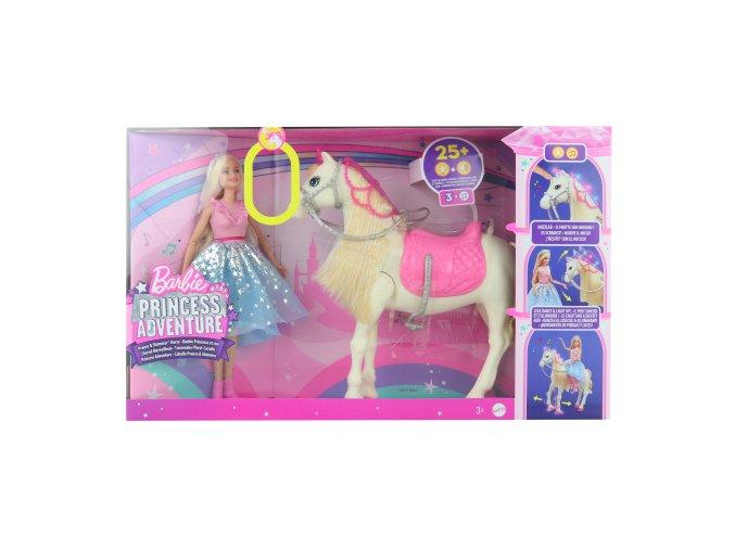 Barbie Adventure Princezna a kůň, na baterie