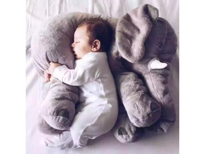 40cm mylb Drop Shipping Infant Soft Appease Elephant Pillow Baby Sleep Toys Room Decoration Plush Toys 1