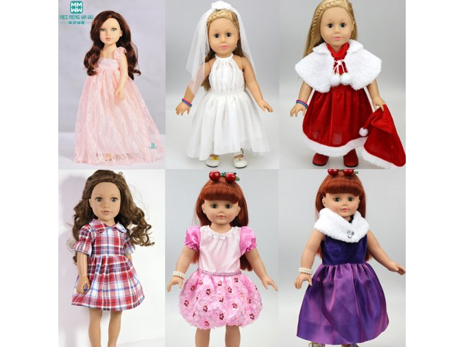 Marriage skirt Clothes for dolls fits American girl doll and Baby Born zapf doll accessories only 1