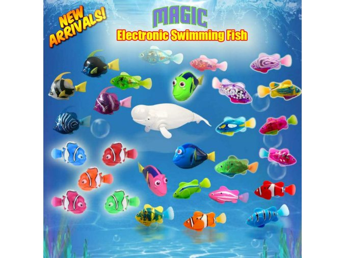 2019 New Funny Swimming Electronic fish Activated Battery Powered fishes Toy fish Robotic Pet for Fishing 1