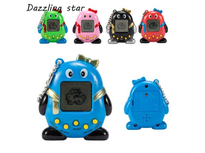 Hot 2018 Tamagotchi Electronic Pets Toys 90S Nostalgic 168 Pets in One Virtual Cyber Pet Toy 1