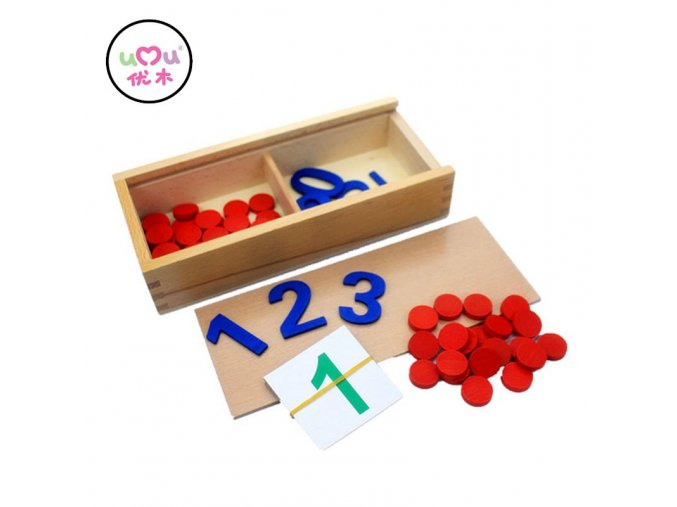 Early Educational Montessori Math Toy Wooden Montessori Sensorial Materials Montessori Toys Educational Games UA2764H Montessori Toy
