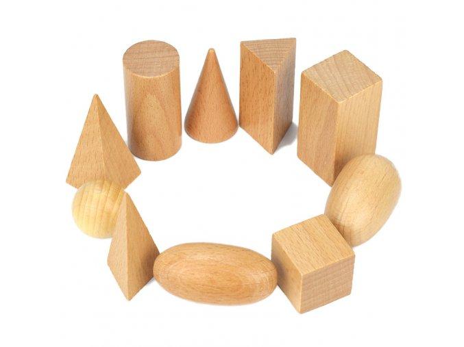 Montessori Wooden Blocks Beads Building Blocks Montessori Materials Wooden Toys For Children Building Toy Set UU1266H 1