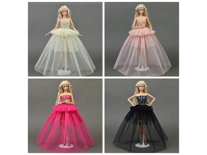 Doll Clothes For Barbie Princess Wedding Dress Noble Party Gown For Barbie Doll Fashion Design Outfit 1