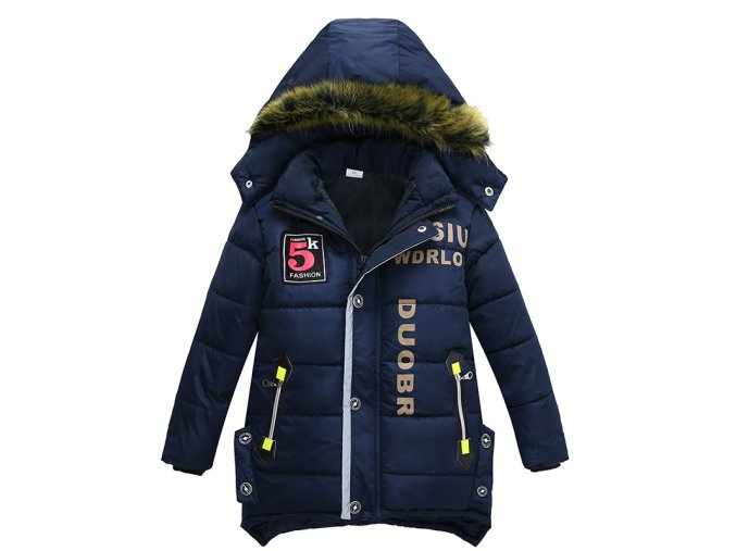 Kids Coats 2018NEW Baby Outerwear Childen Winter Jackets Baby Boy Clothes Down Jacket For Children Boy as picture (1)