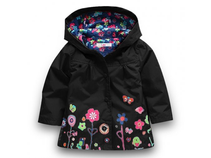 Baby Girls Jacket 2018 Autumn Winter Jackets For Girls Windbreaker Boys Kids Outerwear Coats For Girls Black