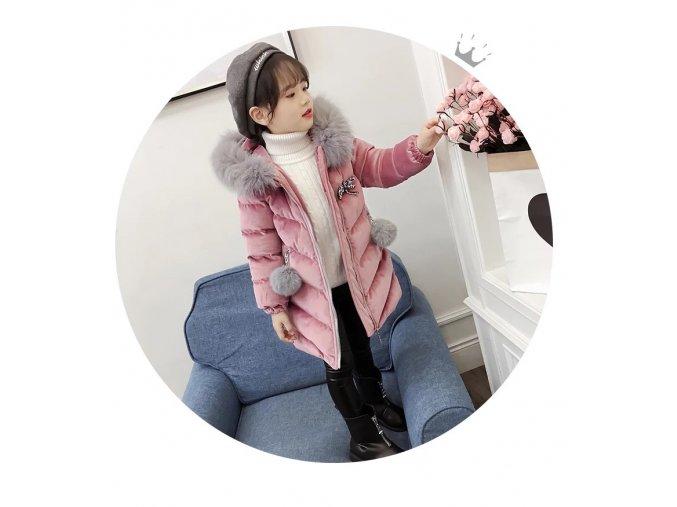 Brand New Children Cold Winter down Girls Thickening Warm Down Jackets Boys long Big Fur Hooded (13)