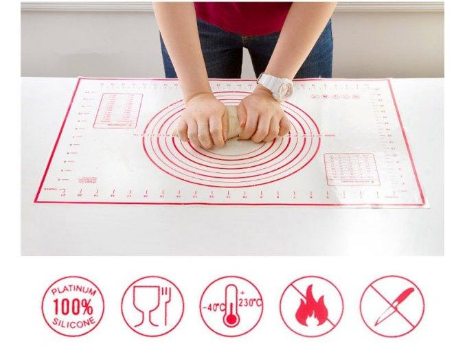 Silikonová podložka na pečení