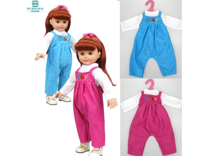 Doll accessories clothes Strap set for 18 inch 45cm Baby Born zapf American girl our generation (2)