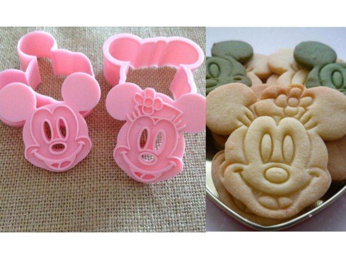 Vykrajovátka na sušenky Mickey a Minnie