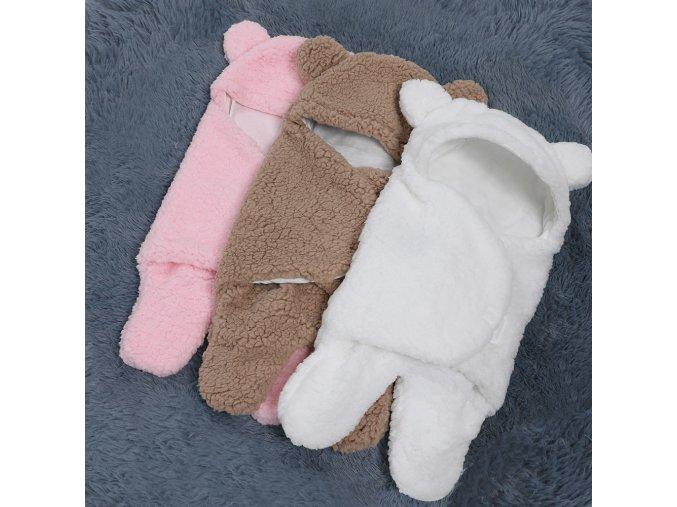 0 12 Months Autumn Baby Sleeping Bag Envelope For Newborn Baby Winter Swaddle Blanket Wrap Cute 1