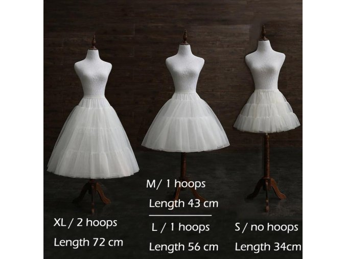 Spodnička (krinolína) pro dětské slavnostní šaty